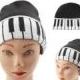 Piano Keys Style Woolen-Knitting Winter Hedging Cap