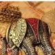 Korean vintage fashion elephant decorated with rhinestones necklace
