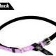 Korean fashion two candy color matching thin belt (Black)