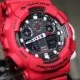 G-Shock GA100 Full Red