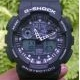 G-Shock GA100 Black White