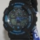 G-Shock GA100 Black Blue