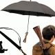 Rifle Gun Handle Black Umbrella